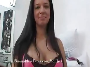 Picture Big Tit Brunette Gets Titty Fucked And Blows