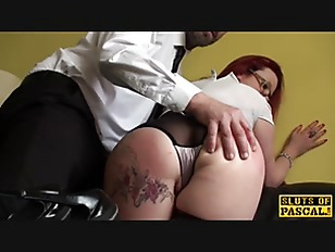 Picture Mature British Sub Dominated Over And Nailed