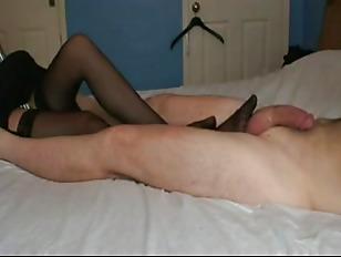Hot blonde strapon