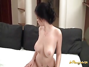 Picture Brunette Busty Fuck Hard On Bed
