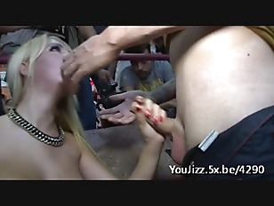 She fucks during public is watching