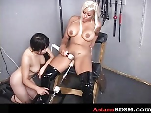 Picture Sex Slaves In Bondage With Sex Machine