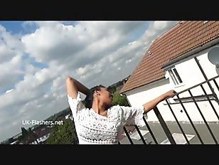 Picture Teasing Ebony Voyeur Mels Softcore Exhibitio...