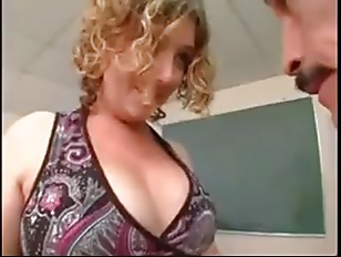 BBW Teacher Caught By Principa