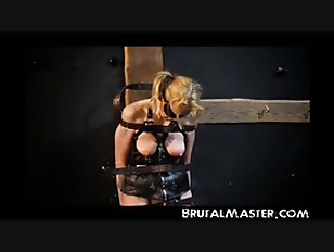 Brutalmaster very extreme tits bullwhipping