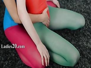 Picture Hairy Lezzs In Nylon Pants Loving