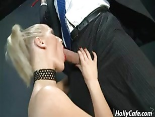Blonde Hottie Sucking My...
