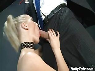 Blonde Hottie Sucking My...