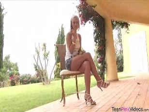 Teen Bridget Works Her...