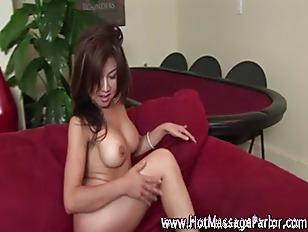 Massage Babe Fingering Pussy...