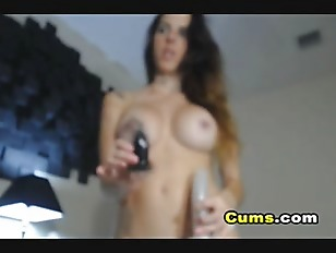 Busty College Cam Babe...