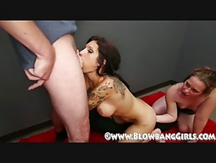 Picture Cum Compilation From BlowBang Girls