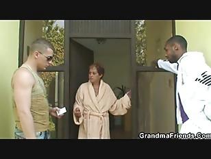 Naughty Grandma Takes Two...