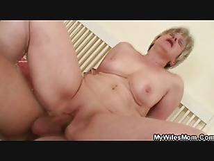 Motherinlaw Swallows His Cock...