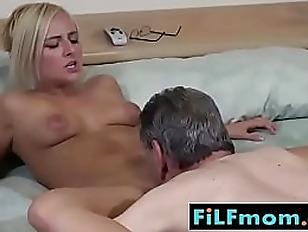 Naked blonde girl gif