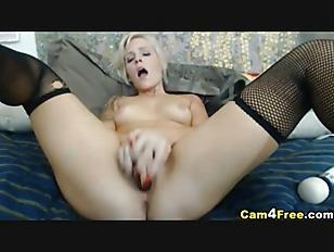 Hot Blonde Sucks A...