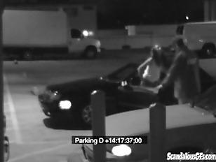 Amateur Couple Carpark Scandal...