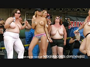 Picture Real Women Going Wild At Midwest Biker Rally