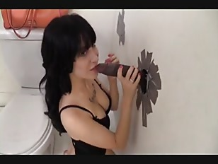 Picture Gloryhole Blowjob