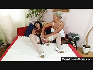 Picture Furry Gran Licks Hot Mamma In Lesbian Action