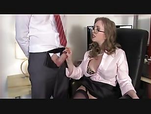 Secretary Gives A Hot...