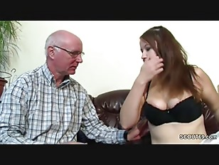 Daddy4k old dad seduces beautiful brunette while son left 7