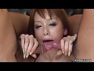 Japanese housewife  Ichika got spit roasted  uncensored