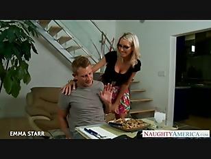 Blonde Babe In Glasses...