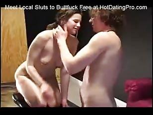 Hazel Painful Buttfuck