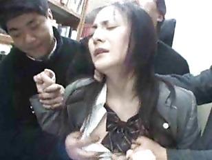 Young Schoolgirl Groped In...