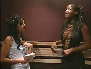 Lesbian Sex In Elevator...