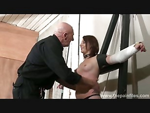 Tied Lexys Sexual Domination...