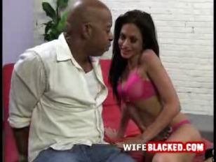 Picture Wife Sucks On Black Cock As Husband Watches