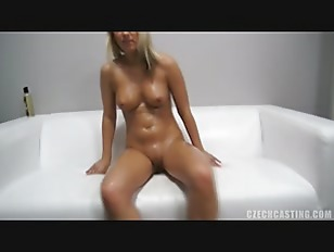 Picture Charming Blonde At The Casting