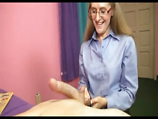 Picture Horny Milf Sara James Giving A Handjob