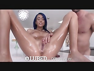 Latina Janice Griffith lubed...