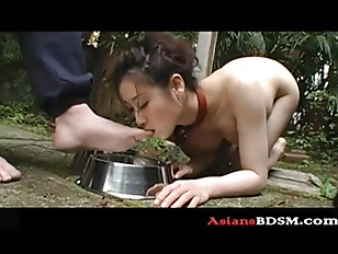 Cute Asian Chick Acting...
