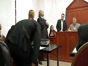 Fucked from courtroom to prison