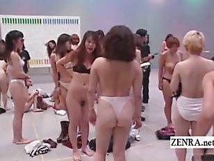 Nude japanese wrestling