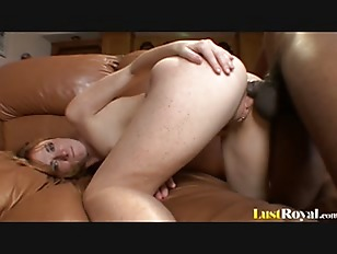 Picture Freckled Beauty Allison Penetrated By A Blac...