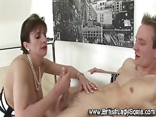 Mature Lady Sucks And...