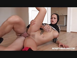 SexWithMuslims – Hot Arab Wife Sucks & Rides Dick in Hijab Like a Pro
