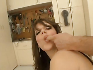 Picture Bobbi Starr Sodomized In The Workshop
