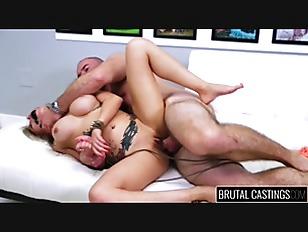 Brutal Action With Blonde Slut
