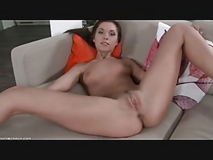 Pussy Rubbing On Couch...