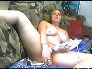 Picture Busty MILF Toying Her Pussy And Squirting