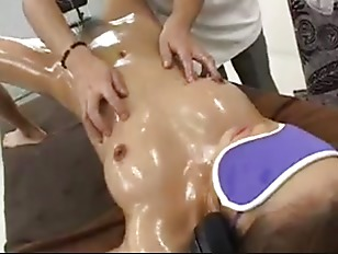 Oil sex asian massage