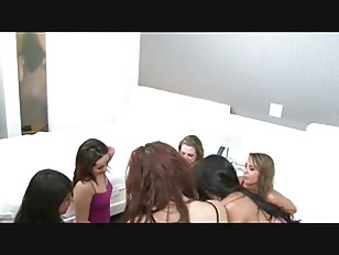 Picture A Group Of Hot Girls Play Spin The Bottle An...