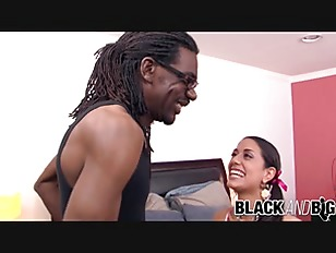 BlackAndBig Lyla Storm Seduces Guy Into Ruining Her Pussy With His BBC