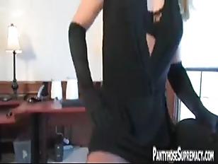 Picture Mistress Dia Zerva Pantyhose Clad Dominatrix